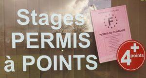 stage de reconstitution de points ou stage à points
