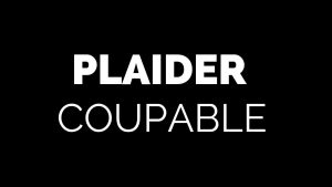 plaider coupable